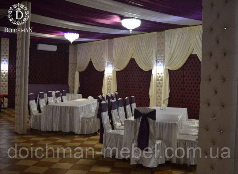 Мягкие стеновые панели для ресторана, клуба, кафе, бара, кинотеатра