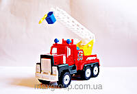"""Машина """"МАК пожарка"""", в пак. 22*8см, произ-во Украина (30шт)(МГ-147)"""