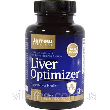Jarrow Formulas, Для оптимального здоровья печени, 90 таблеток, фото 2