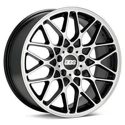 Диски BBS ( ББС ) Модель RX-R Цвет Black / Diamond Cut / Rim Protector