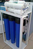 Система очистки воды, обратный осмос RO-600, для среднего и малого бизнеса