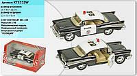 "Машина метал. ""Kinsmart"" ""Chevrolet Bel Air Police"" (1957) в кор. 16*8,5*7,5см(KT5323W)"