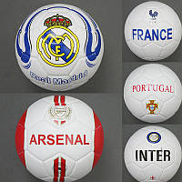Мяч футбольный 772-627  310-330 грамм, матовый, 5 видов