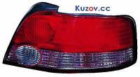 Фонарь задний для Mitsubishi Galant седан '99-01 левый (DEPO) дымчатая вставка 214-1980L-U
