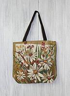 Романтичная женская пляжная сумка Ромашки