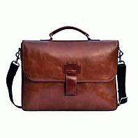 Портфель Issa Hara B20 (92-00) кожаный Коричневый