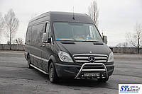 Защита переднего бампера (кенгурятник)  Mercedes Sprınter 2007-14