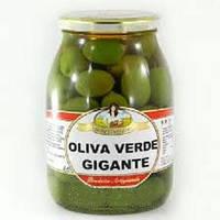 Оливки Oliva verde gigante, 600г