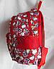 """Дошкольный рюкзак для девочек """"Хелоу Китти"""" (25х30) Вьетнам , фото 2"""