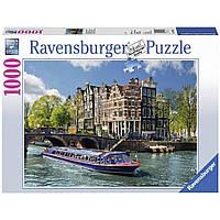 Пазл Ravensburger Экскурсия по каналу Амстердам 1000 элементов (RSV-191383)