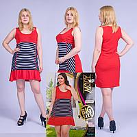 Женское летнее платье Турция. MODY 20036 Big Size. Размер 48-50.