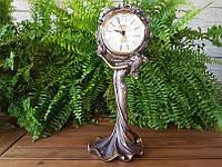 Колекційні камінні (настільні) годинник Veronese Дівчина WU74849A4