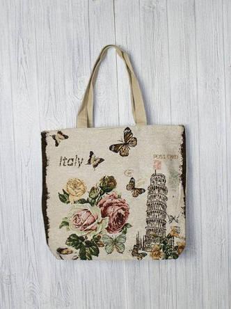 4cbb94e9098a Практичная пляжная сумка с романтичным принтом: продажа, цена в ...