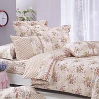 Комплект постельного белья полуторный 150*220 хлопок (3597) TM KRISPOL Украина