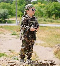 Детский костюм OUTDOOR Лесоход Рыбак камуфляж Дубок, фото 3
