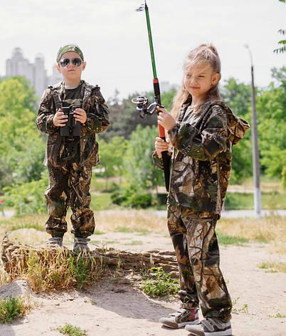 Детский костюм OUTDOOR Лесоход Рыбак камуфляж Дубок, фото 2