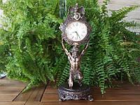Каминные часы Veronese Атлант (38 см) 75467 A4