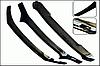 Дефлектор капота Subaru Impreza 2007 ->