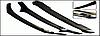 Дефлектор капота Subaru Outback 2009-2015 / Legasy 2009-2015