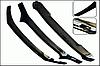 Дефлектор капота Toyota Highlander 2010-2013 после рестайлинга