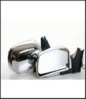 Зеркало боковое SM2109 LADA 08,09,13-15 хром с поворотом