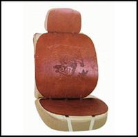Накидки на сид.  AG-24751 BRAUN кожа