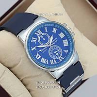 Часы Ulysse Nardin quartz Silver-Blue Dark