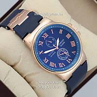 Часы Ulysse Nardin quartz Blue dark-Gold-Blue dark
