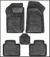 Ковры ВАЗ 2110-2112, Приора в салон под ноги (5шт. с перемычкой)