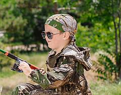 Бандана детская камуфляж Дубок, фото 2