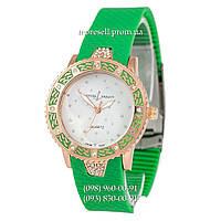 Часы Ulysse Nardin Brilliant Quartz Green/Gold/White