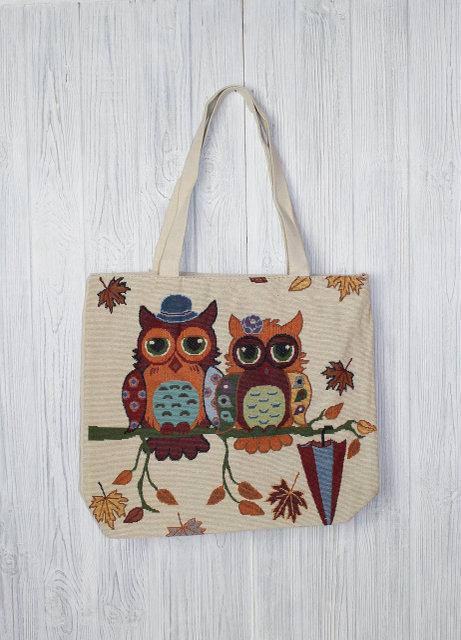 3f480904a535 Модная женская пляжная сумка Совы, цена 145 грн., купить в ...