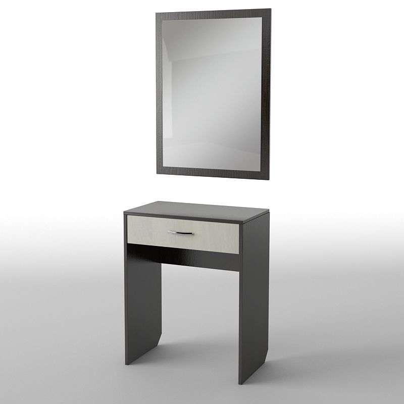Туалетний будуарний столик з ДСП/МДФ в спальню БС-25 Тіса меблі