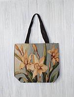 Нежная женская пляжная сумка Лилии