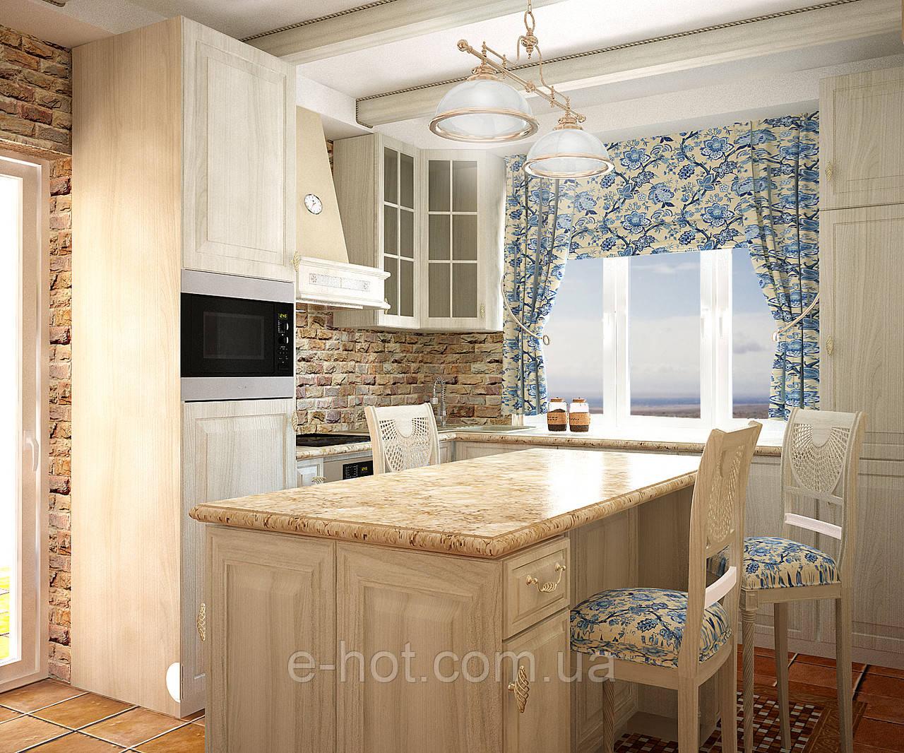 Дизайн-проект кухни, Кухня Росен