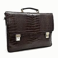 Портфель KARYA 0146-57 кожаный Коричневый