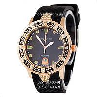 Часы Ulysse Nardin Quartz 6100 Black-Gold-Black