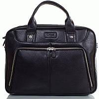 Портфель KARYA 0655-45 кожаный Черный