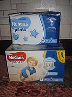 Huggies Pants 4 (36шт.) 9-14 для мальчиков подгузники-трусики