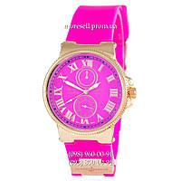 Часы Ulysse Nardin Quartz Gold-Pink