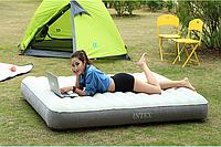 Надувная велюр кровать диван матрас Intex 64707 1919925 см