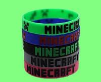 Браслет Minecraft Майнкрафт черный