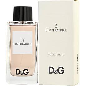 Женские - D&G L`Imperatrice 3 (edt 100 ml)
