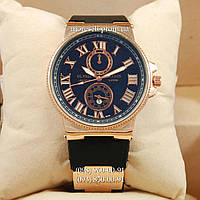 Часы Ulysse Nardin quartz Gold-Black