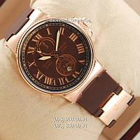Часы Ulysse Nardin Lelocle Suisse Gold-Brown
