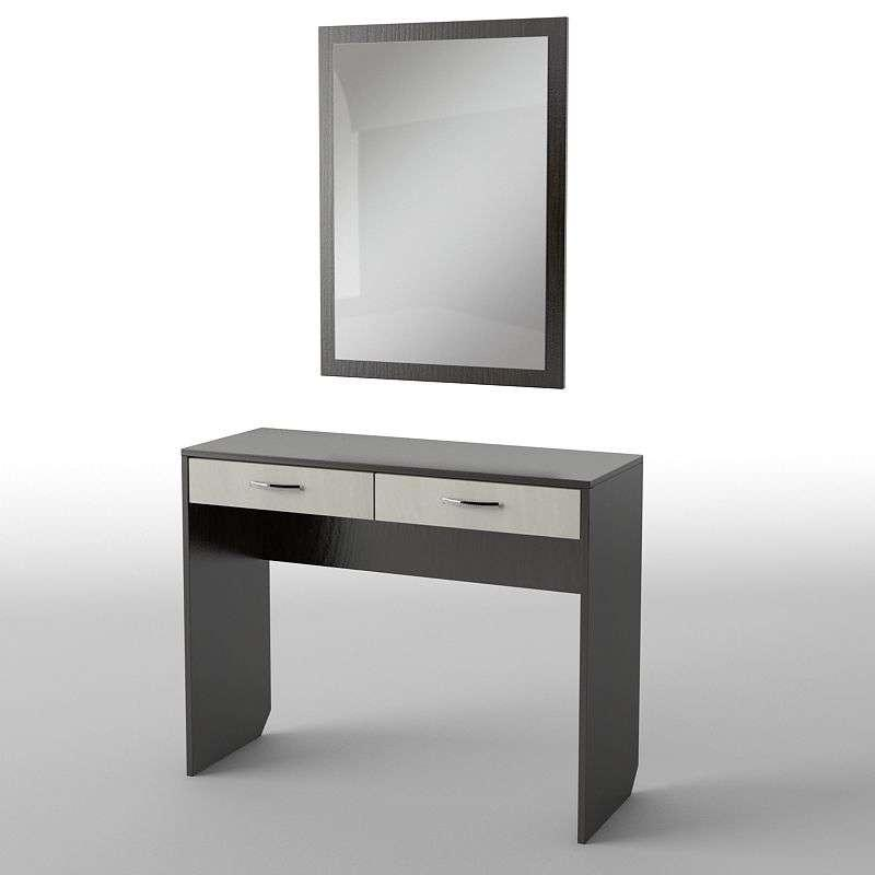 Туалетний будуарний столик з ДСП/МДФ в спальню БС-19 Тіса меблі
