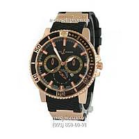 Часы Ulysse Nardin 6936C Black-Gold-Black