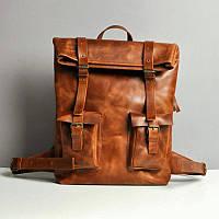 Рюкзак Jizuz M354010R кожаный Коричневый