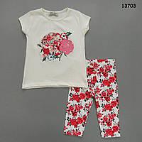 """Летний костюм """"Розы"""" для девочки. , фото 1"""