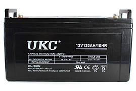 Гелевый аккумулятор UKC Battery Gel 12V 120A ZFD